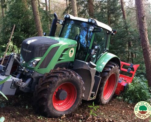 Specialist tractor mulcher