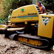 Vermeer ts505 tracked stump grinder
