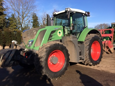 land clearance with Fendt mulcher
