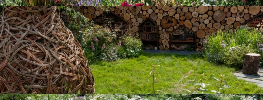 Practical Instant Hedge at Hampton Court Flower Show - Hampton Gardens 2018