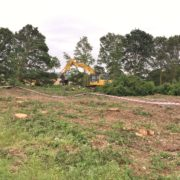 HS2 works on golf course