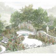 RHS Hampton Lifestyle Garden by Jo Thompson