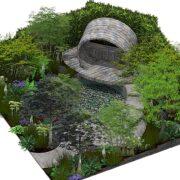 RHS Hampton Lifestyle Garden by Dave Green