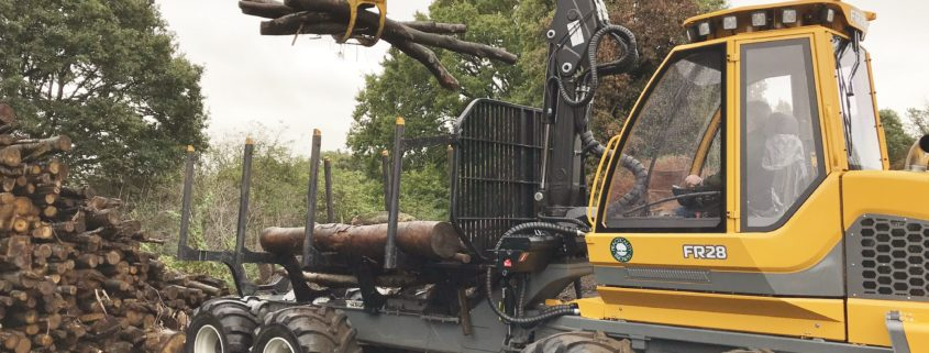New forestry forwarder