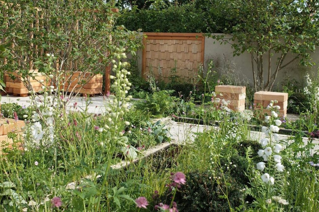 Communications Garden by Amelia Bouquet featuring our Practical Instant Hedge